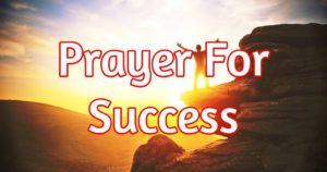 Prayer For Spiritual Fruit and Success