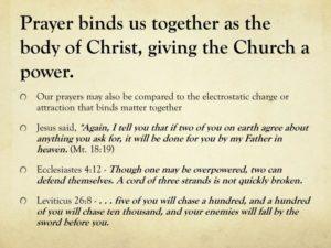 Prayer Of The Body of Christ