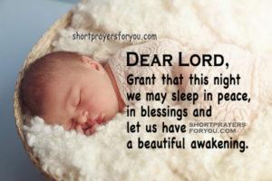Bedtime Prayer For Families