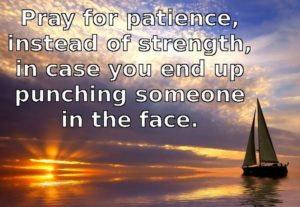 Prayer For Patient Endurance To The End