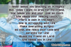 Prayer For a Girlfriend in My Life