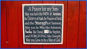 Prayer For My Son's Personal Holiness