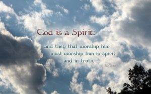 Prayer to Worship in Spirit and Truth