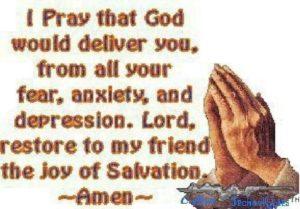 Prayer For My Girlfriend's Depression