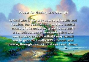 Prayer For Strength and Peace