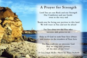 Prayer For  Strength To Face The Future
