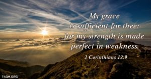 Prayer of Thanks For His Sufficient Grace