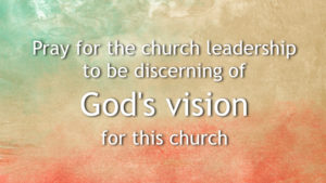 Prayer For Our Church Leaders