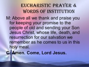 Prayer Of Praise and Thanks for Our Salvation