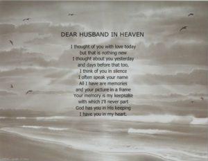 Loss of My Husband