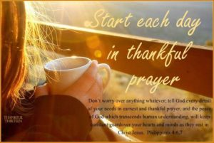 Prayer Of Thankfulness For Your Our Daily Needs