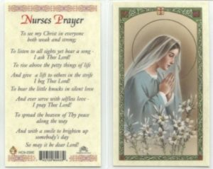 Prayer For Nurses and Nursing Staff