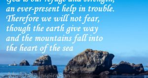 For God's Strength In Troubled Times