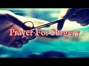 Prayer for Mother in Surgery