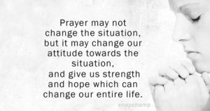 Prayer For Stressful Situations