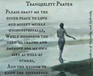 Prayer For an Inner Serenity of Heart and Mind