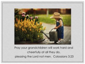 Prayers For Loss Of A Grandchild