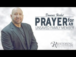 Parents Prayer for an Unsaved Child