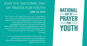 Prayer For Youth Groups In Our Churches