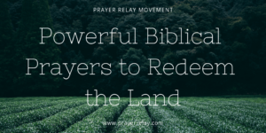 Prayer Of Thanks For ALL The Redeemed