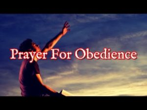 Prayer For Godly Obedience