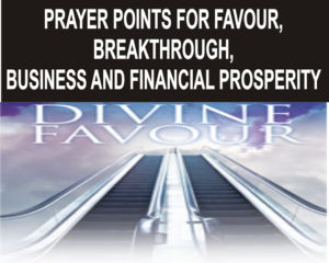 Prayer For Financial Breakthrough in Business