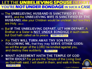 Prayer For Unbelieving Spouse