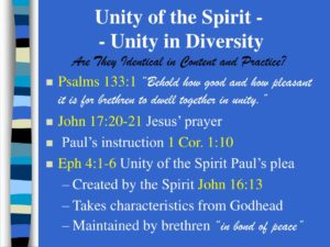 Prayer For Brotherly Unity