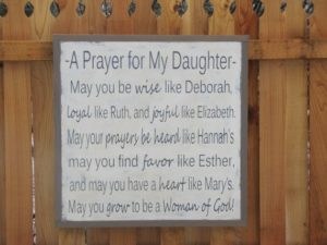 Prayer For A Daughter In Trouble