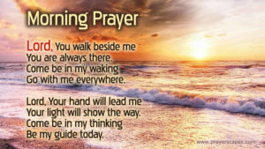 Simple Morning Prayer