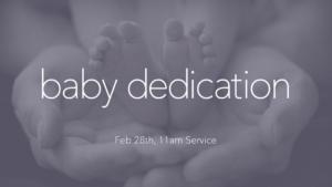 Prayer Of Dedication For My Baby Son