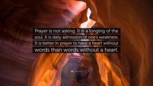 Prayer For A Deeper Knowledge Of God