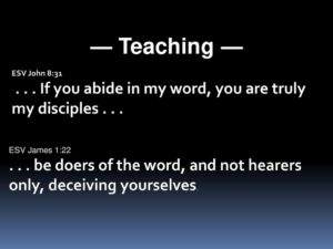 Teach me to Abide in You
