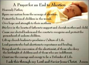 Prayer For Fathers Mourning An Abortion