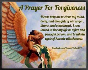 Child's Prayer for Forgiveness