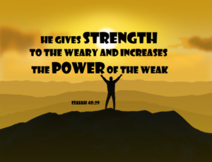 Prayer Of Strength For The Weary