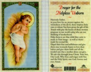 Prayer For My Unborn Baby