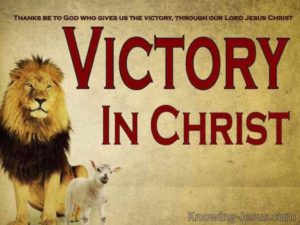 Prayer Of Thanks For Christ's Victory