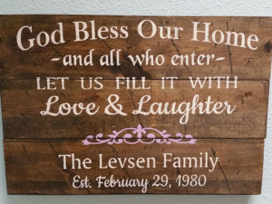 Bless Our Home and Family