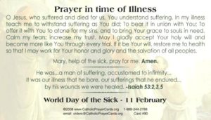 Prayer For All Who Are Suffering With Cancer