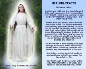 Prayer Of Healing For Heal My Mother