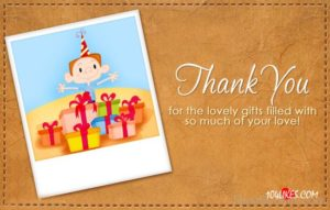 Thank you For Your Love-Gift To Me