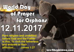 Prayer of Mercy for Orphans and Children