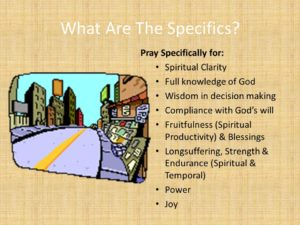 Prayer For Spiritual Fruitfulness