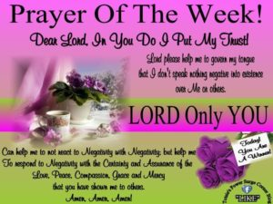 Prayer For A Fruitful Week