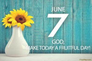 Prayer For A Fruitful Spiritual Harvest