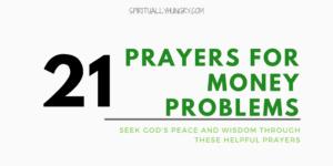 Prayer For Wisdom With Money