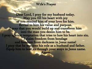 Prayer For Husband On Drugs
