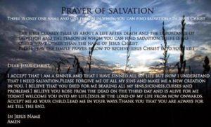 Simple Prayer For Salvation