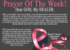 Prayer For Healing of Breast Cancer